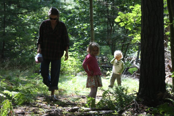 This photo of me and my kids picking raspberries, I love... for its beauty and it's pain. It always reminds me of the joy my kids gave me in my heaviest grief, my efforts to see the light and the beauty that remains around us during times of grief; and, also the weight I carried with me during that time, shaping me into who I am today. It reminds me of the rawness of living life feeling someone is missing – a feeling, I know, that will one day pay a visit, again.