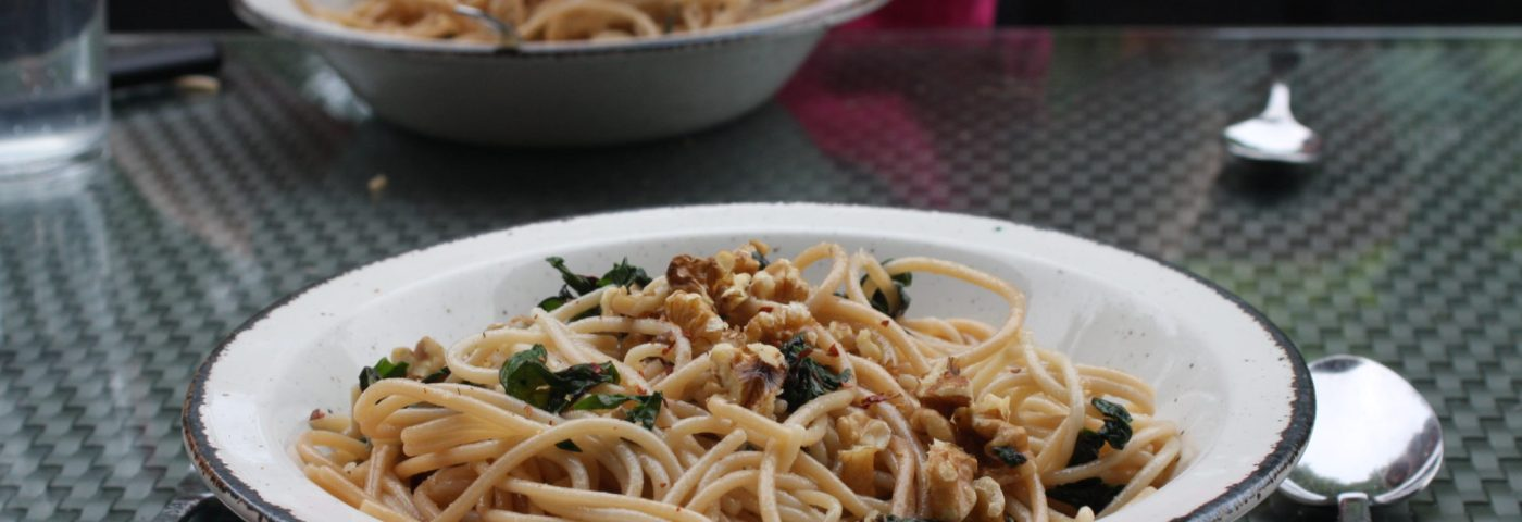 swiss chard pasta