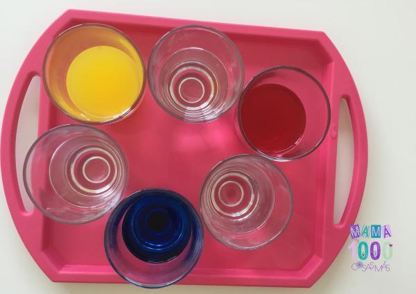 Experimentos cientificos para niños