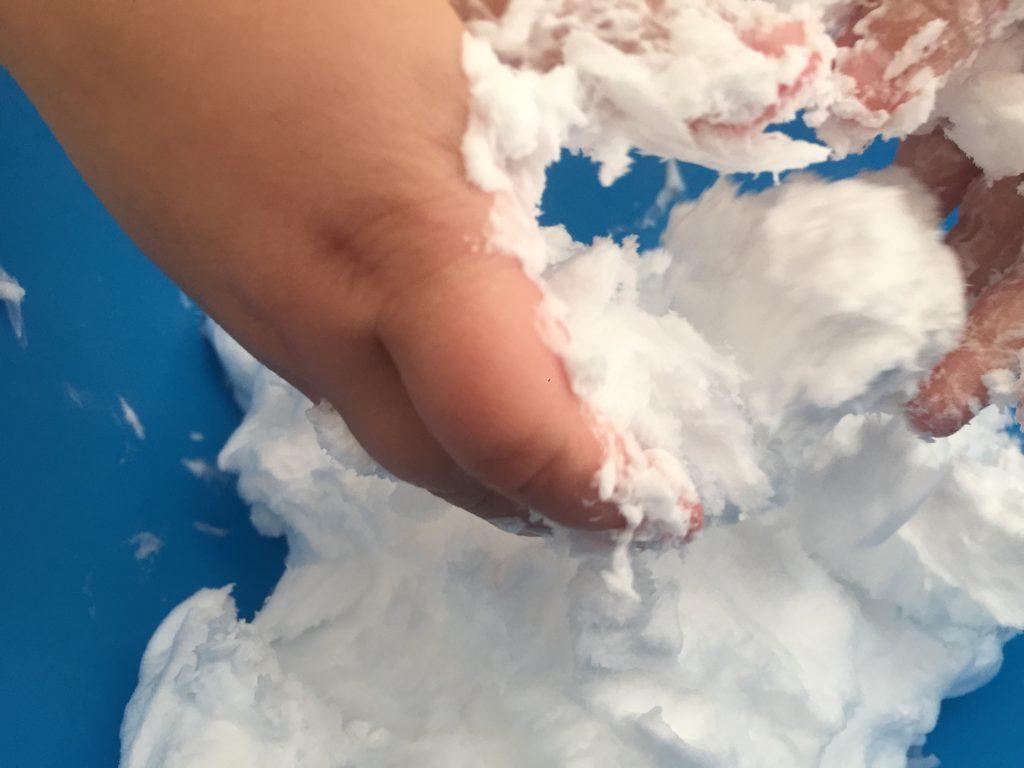 Nieve Casera con Espuma