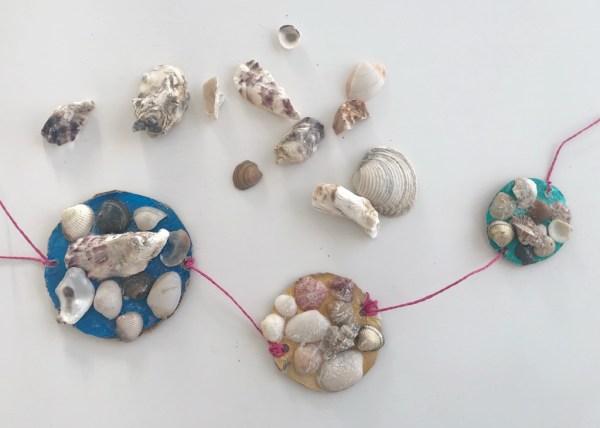 Decorar con conchas de mar