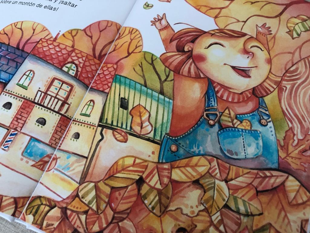 el nido cuento sobre el otoño