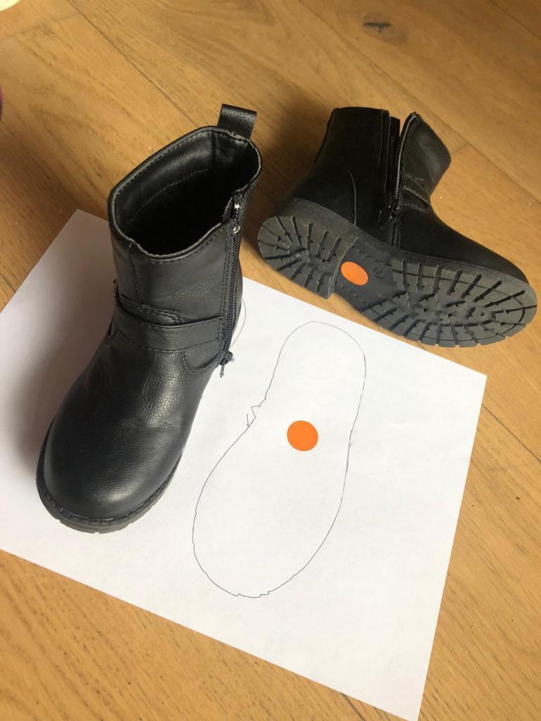 trucos para que sepan que zapato va en cada pie