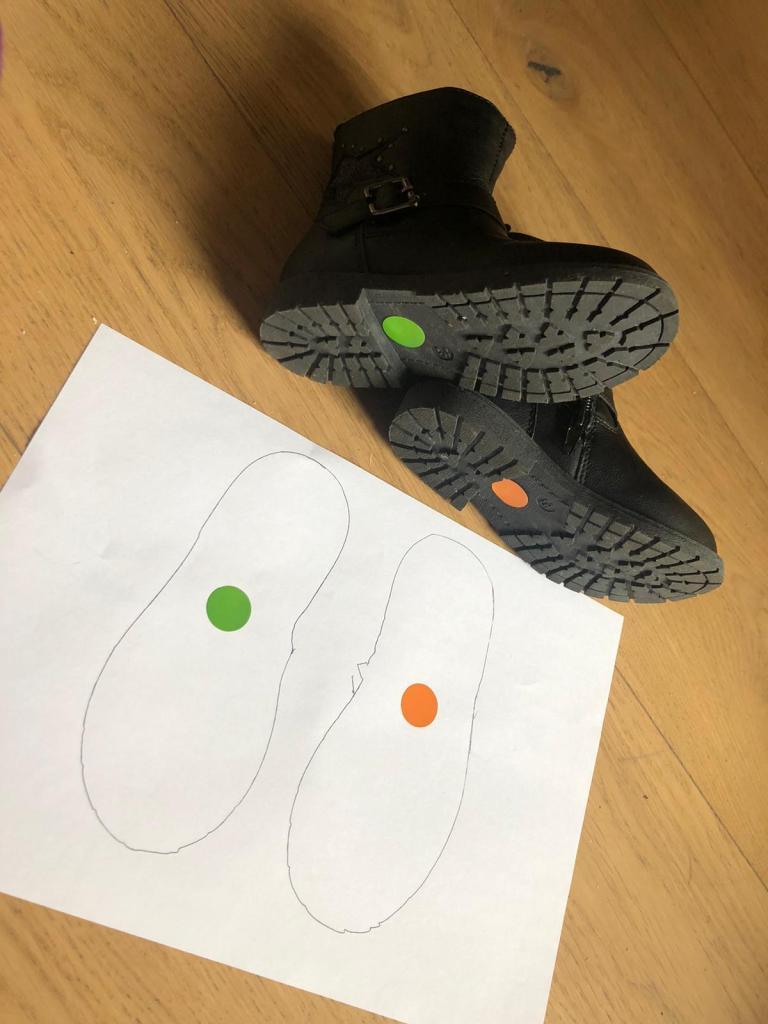 tips para que los niños se pongan bien los zapatos