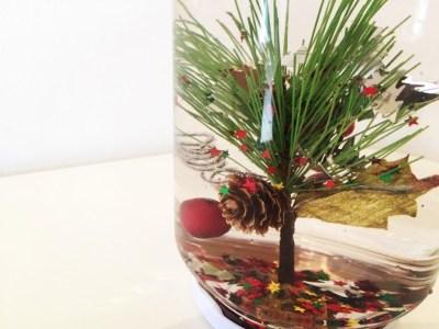 bote magico de navidad casero