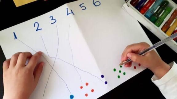 actividades con numeros para niños de 4 años