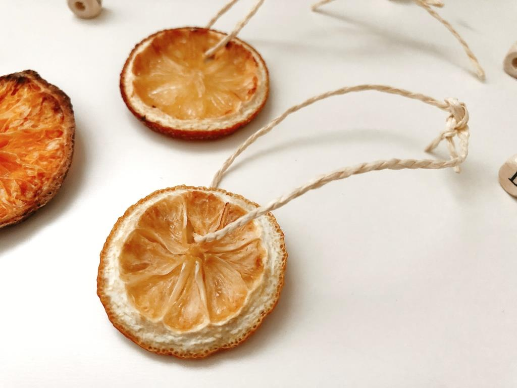 ideas de adornos con frutas para navidad