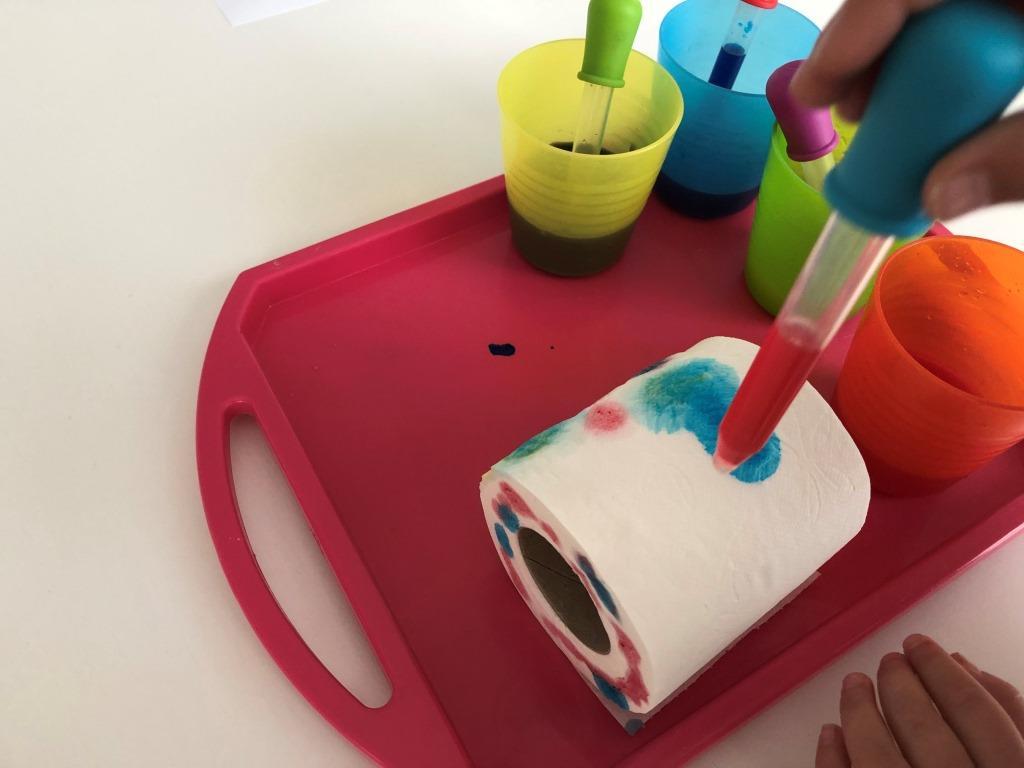 proceso creativo en casa para niños de todas la edades