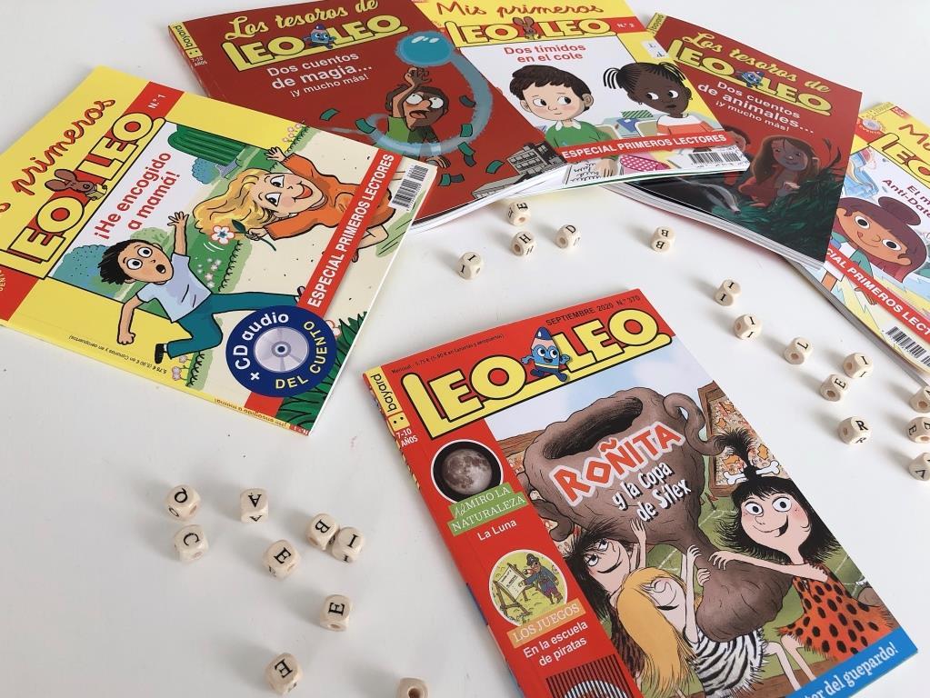 revistas para niños