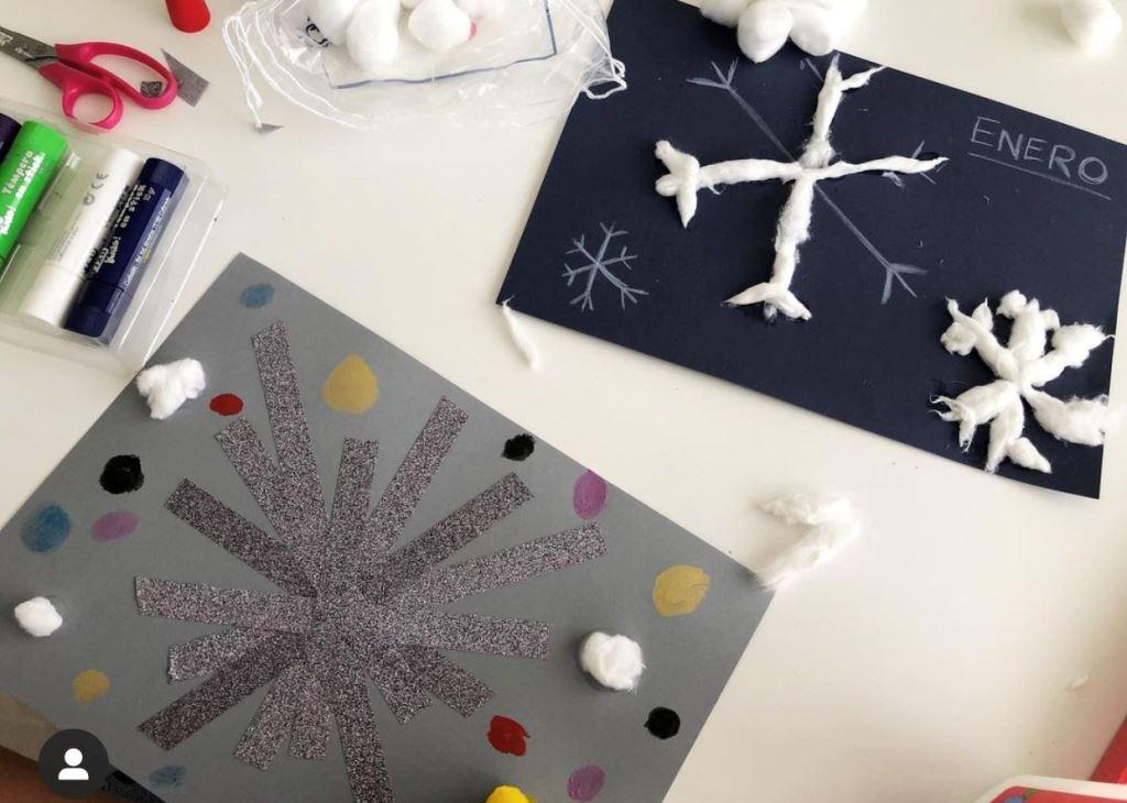 ideas para hacer estrellas o copos de nieve