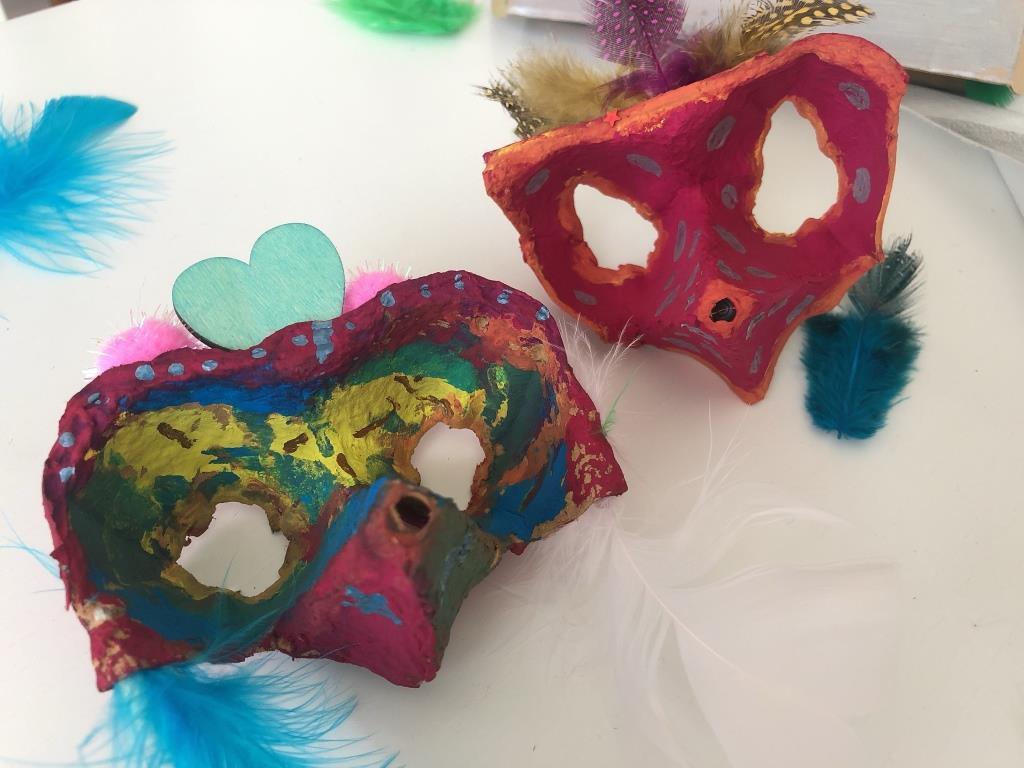 ideas con material reciclado para carnaval