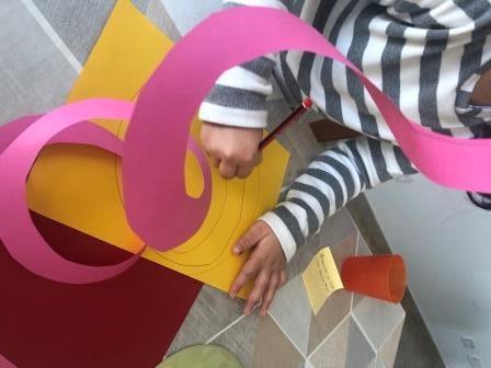 espirales de papel