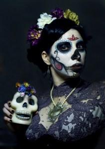 Maquillaje para el día de muertos: calaveras