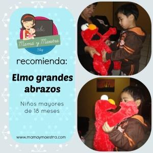 Mamá y maestra recomienda: Elmo grandes abrazos