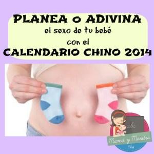 ¡Planea o adivina el sexo de tu bebe con calendario chino!