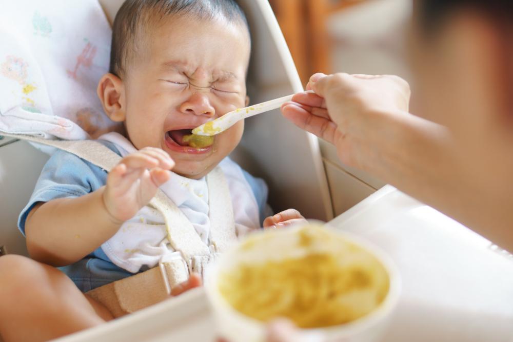 mi bebé no quiere comer ni tomar leche