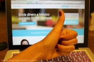 Envía dinero por internet el día de las madres, fácil con Pangea