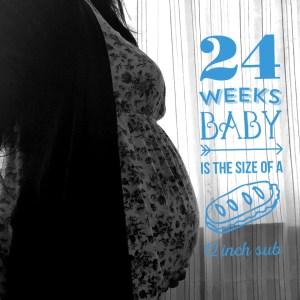 Semana 24 embarazo, estrés laboral