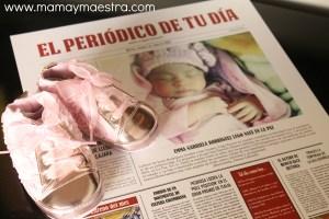 El periódico de tu día, bonito recuerdo de nuestros hijos