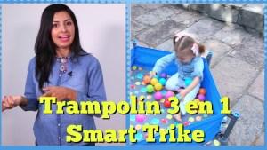 Reseña: Trampolín 3 en 1 de SmarTrike