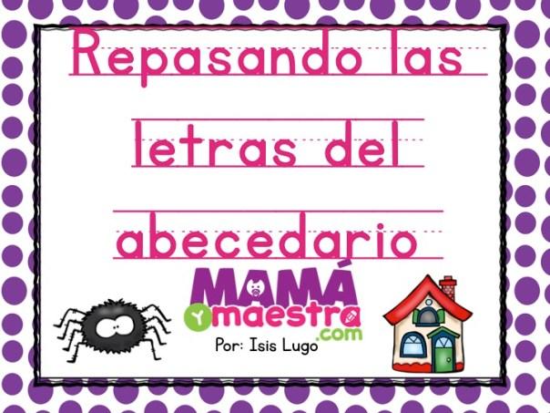 Trazando las letras del abecedario | Imprimible gratis - Mamá y maestra