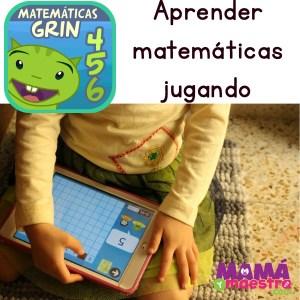 Matemáticas con Grin, una app para aprender jugando.