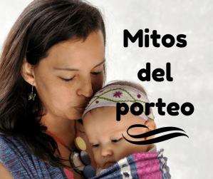 ¿Es verdad que los bebés se embracilan? Mitos del porteo