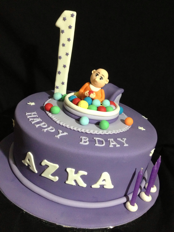 First Bday Cake Azka Mamayo