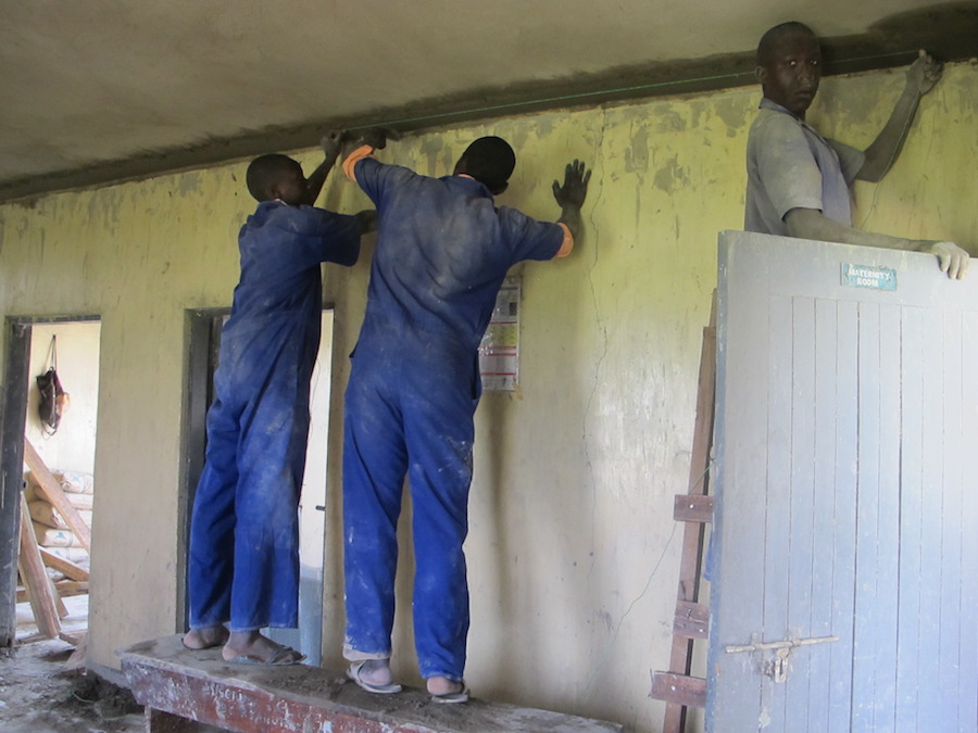 Repairs being done to Tonya Health Centre III