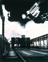 "Terrain Vague series: ""Coking plant, Yorkshire"", 1997 © Joan Fontcuberta"
