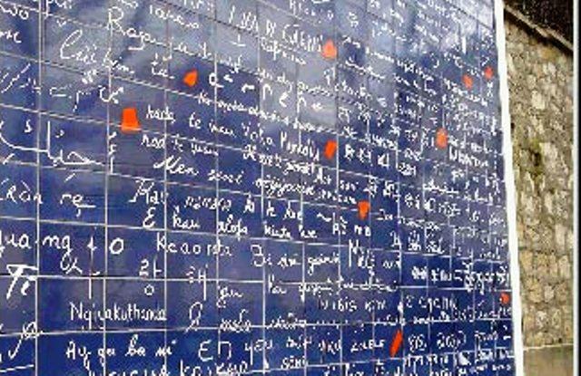 muro je t'aime - photo by mamcasz