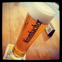Dear frappe, screw you. Regards, Krombacher.