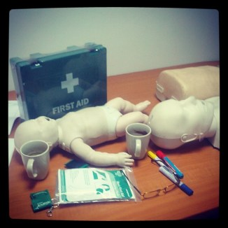 Learning First Aid and CPR
