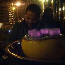 Citrus mix shisha with friends