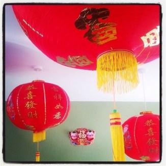 Chinese balls of light
