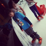 Young skater