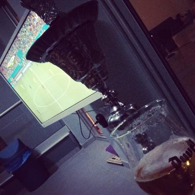 Shisha, beer, football, friends...