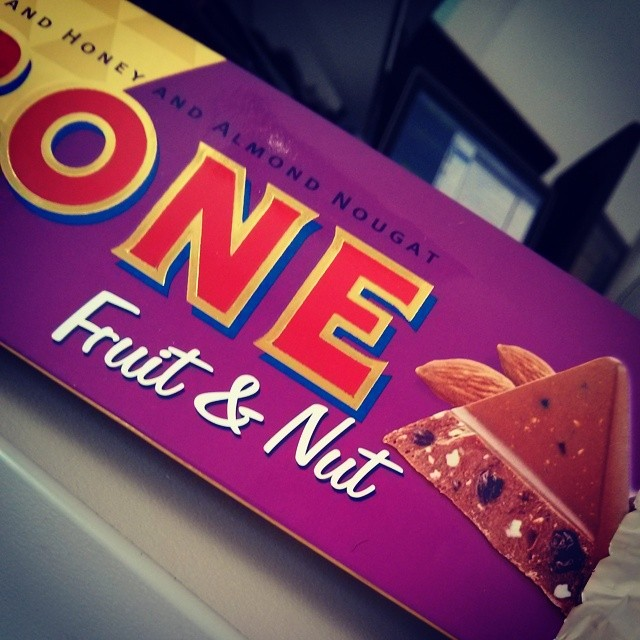 One. ToblerONE