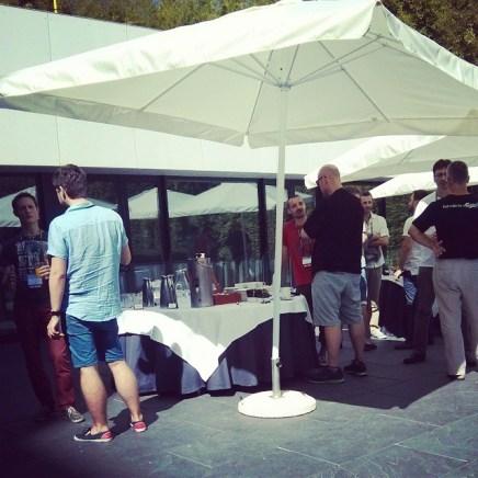 Coffee break at #CakeFest