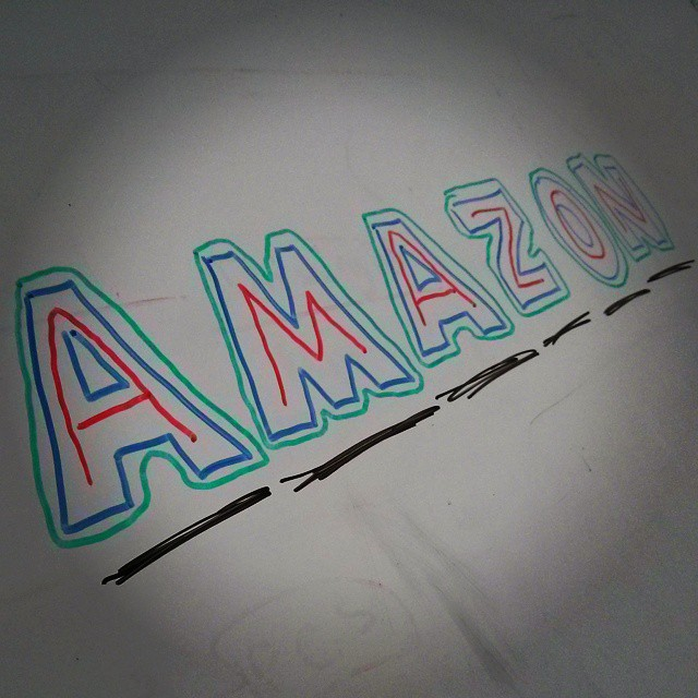#Amazon #AWS #office #whiteboard #love