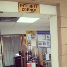 Internet corner