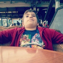 Waiting for food... Like a boss