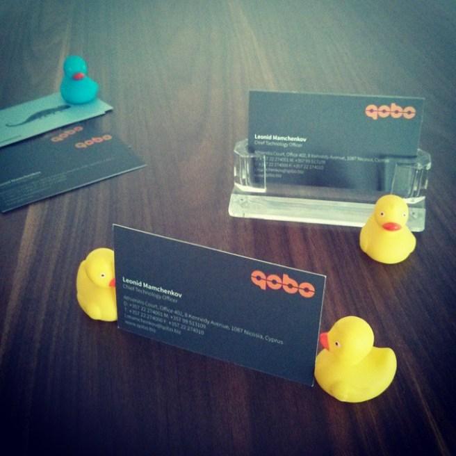 Card stealing ducklings