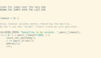 11 Best Programming Fonts | Blog of Leonid Mamchenkov