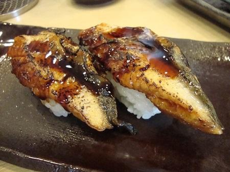 ウナギのお寿司