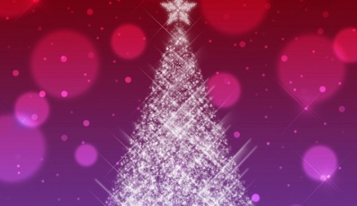 今年のクリスマスツリーはLEDファイバーがオススメ!