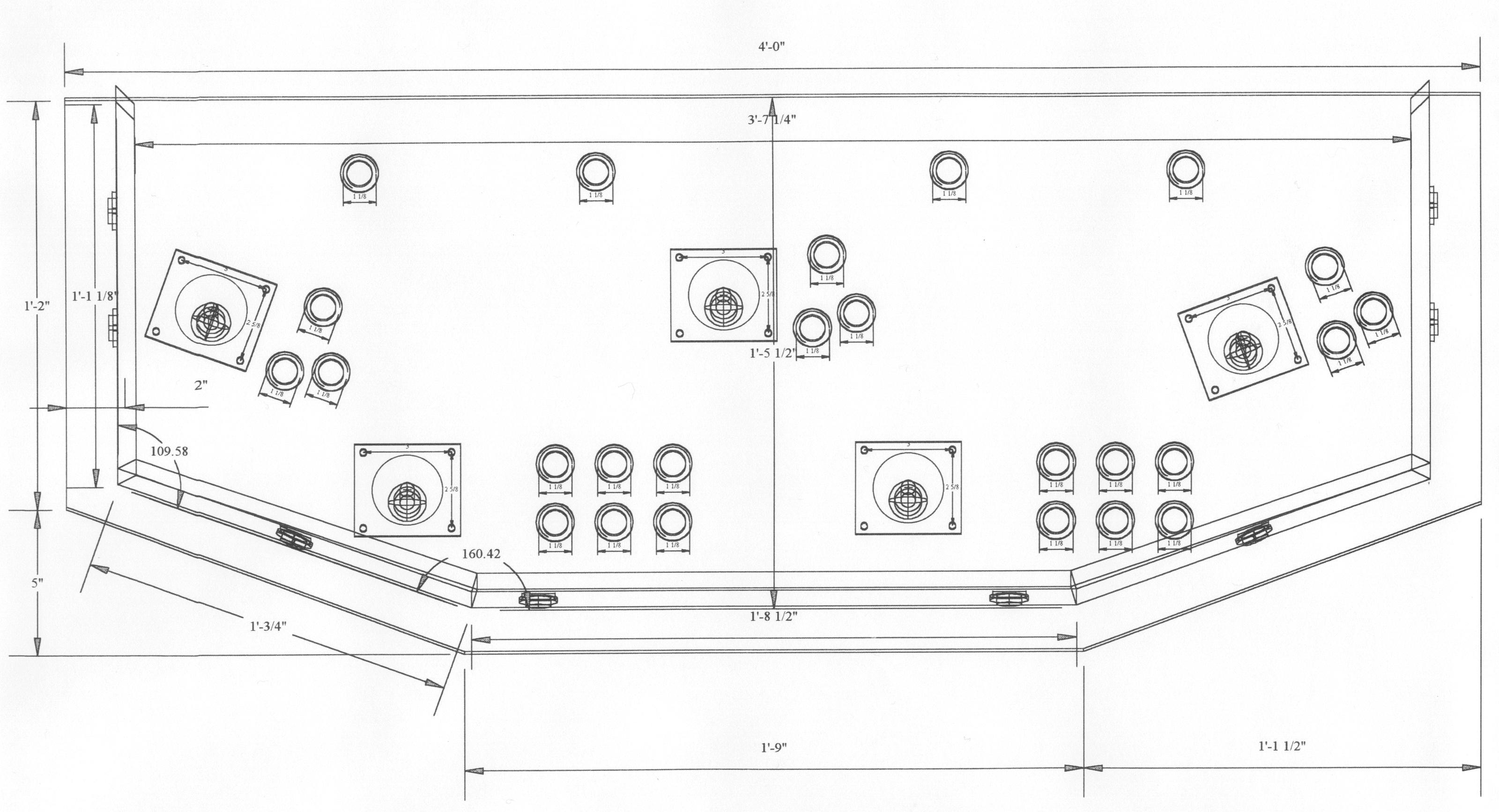 4 Player Arcade Cabinet Blueprints Farmersagentartruiz Com