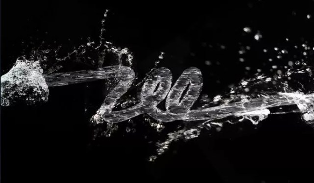 3D Water Text Effect with Repouss� in Photoshop CS5