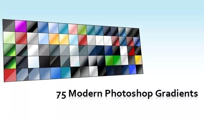 Free Photoshop Color Gradients Set - Free Gradients Color for Photoshop