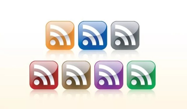 Glass Style RSS Feed Icons - Free RSS Feed Icons